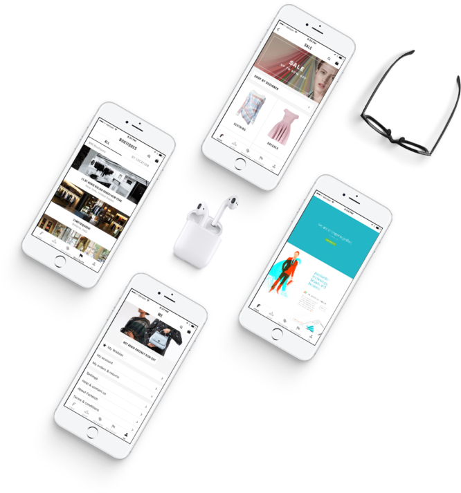 Website Design on Mobile by Hiilite