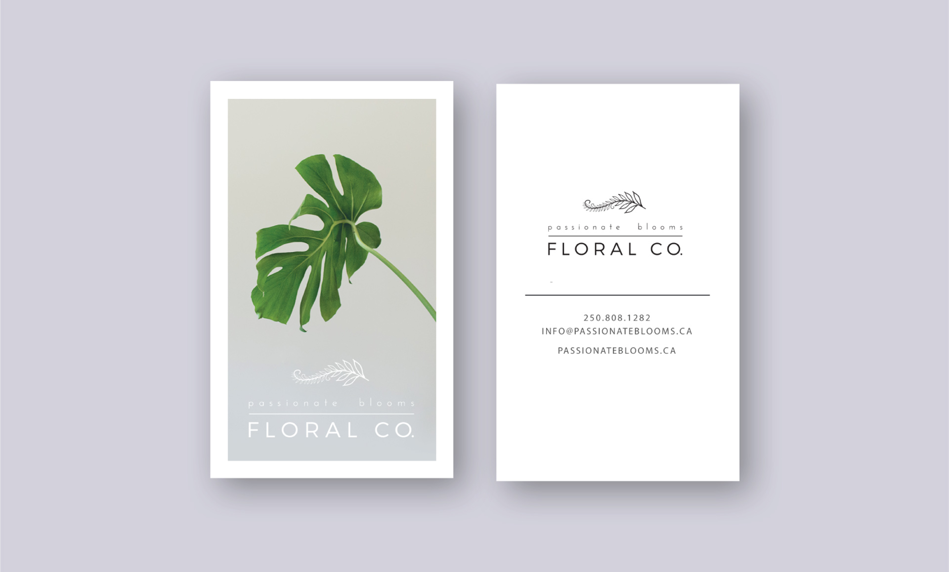 retail marketing flower shop logo design
