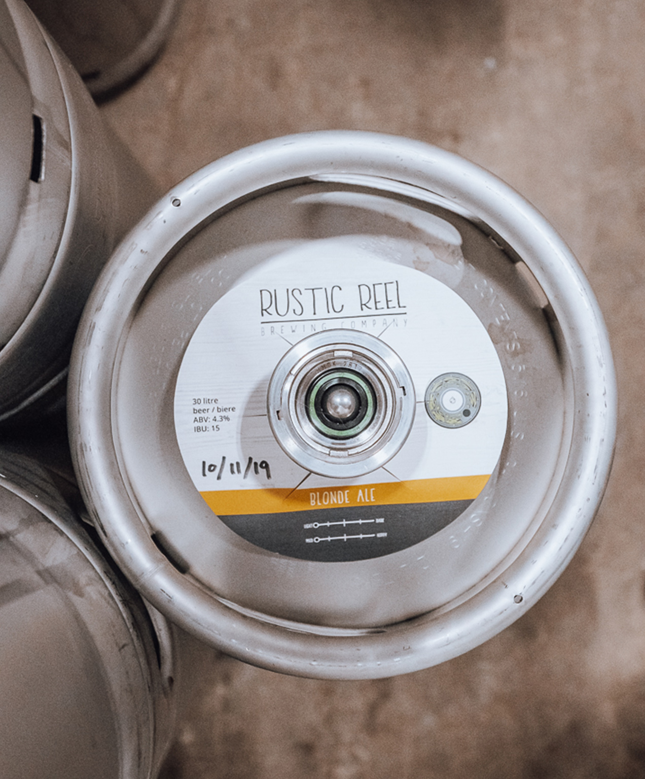 kelowna brewery marketing keg photo
