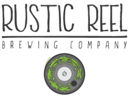 kelowna brewery marketing rustic reel logo
